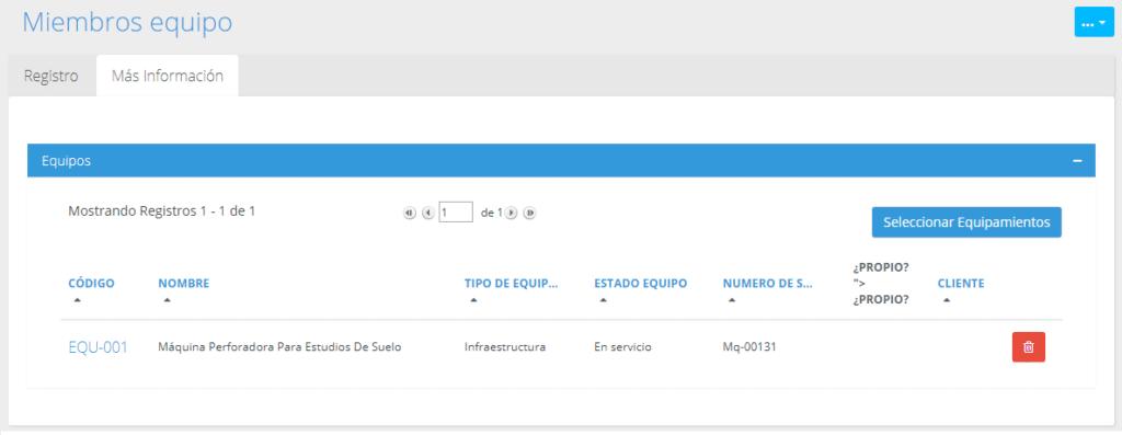 Gestión de datos en módulos de Platzilla (cont...)