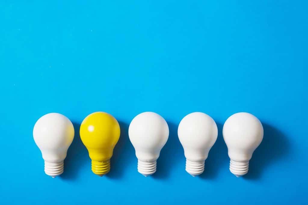 Ideas innovadoras y disruptivas. ¡Pasar a la acción!