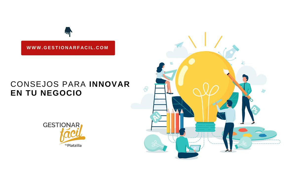 Consejos para Innovación en las empresas