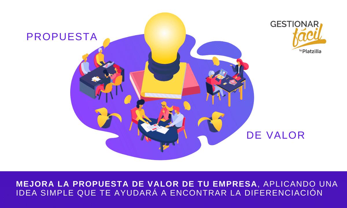 Cómo mejorar la propuesta de valor de una empresa (ejemplo)
