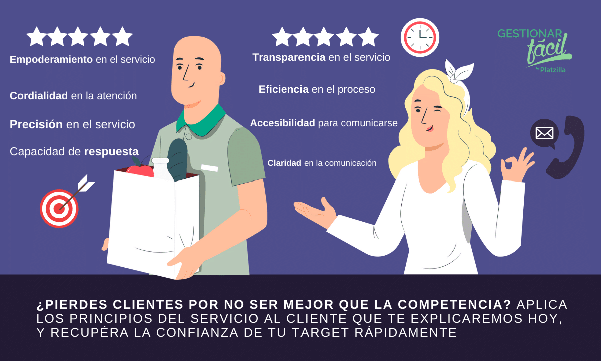 principios del servicio de atencion al cliente