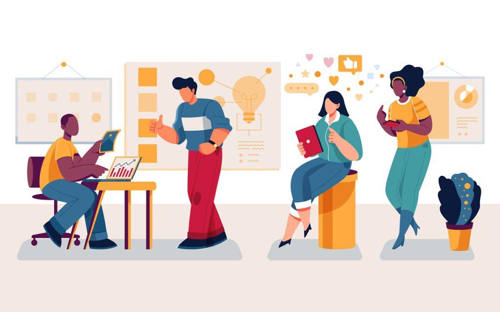 Trabajo en equipo en una empresa. ¡Haga su evaluación fácil!