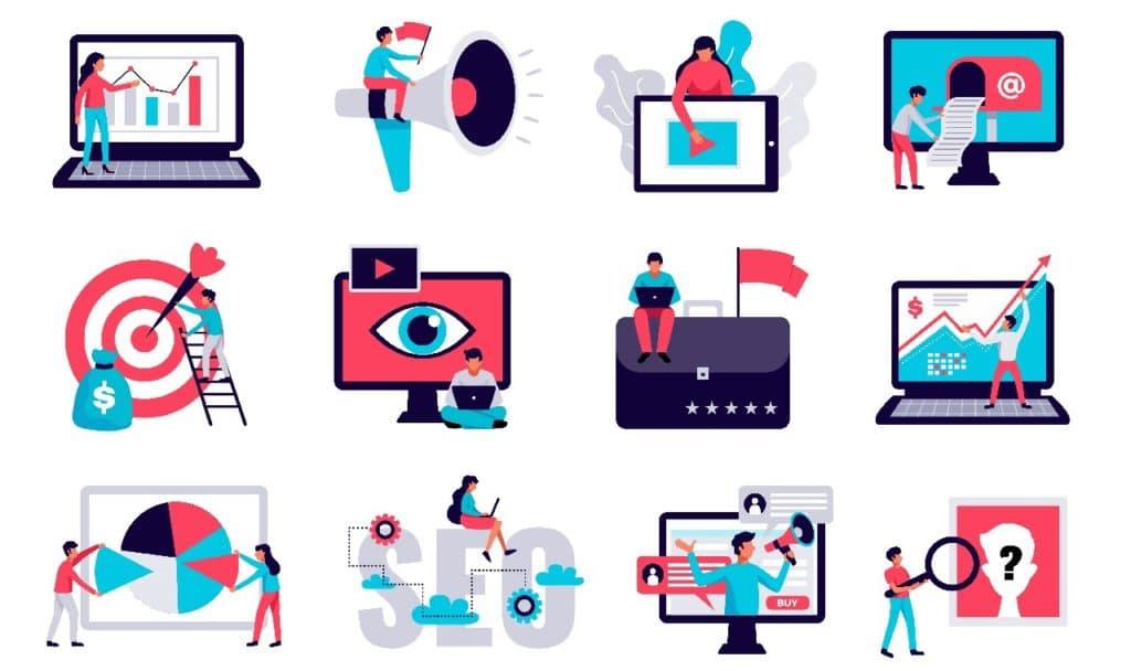 Existen muchas herramientas en línea para realizar marketing digital.